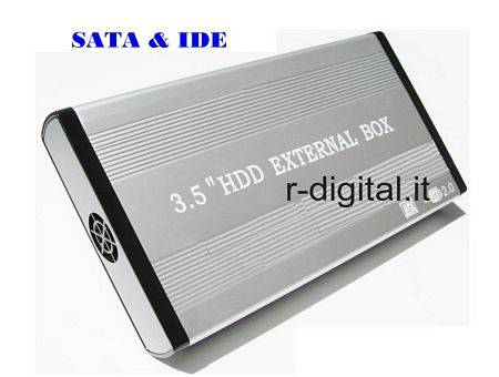 "BOX ESTERNO SATA & IDE 3.5 LINQ USB HD HARD DISK 3.5"" CASE"