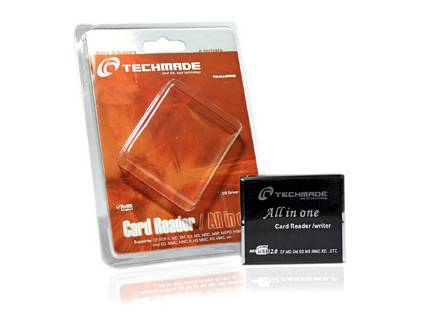 CARD READER TECHMADE TM-ALLINONE LETTORE SCHEDE USB ALL IN 1