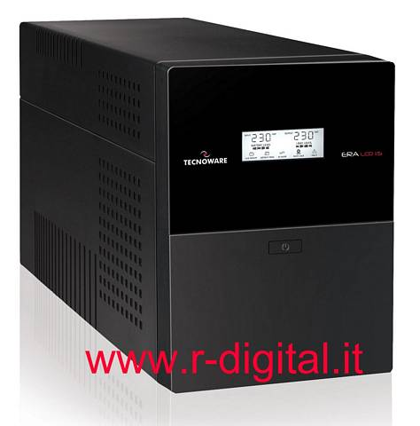 TECNOWARE UPS 1500VA ERA UPS LCD DISPLAY LED