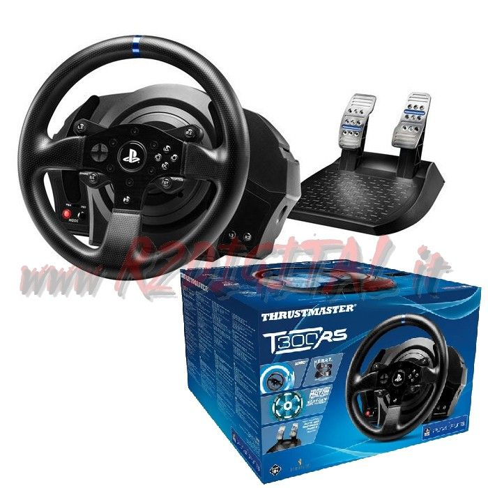 VOLANTE PEDALI THRUSTMASTER T300RS PC PS3 PS4 PEDALIERA PLAYSTAT