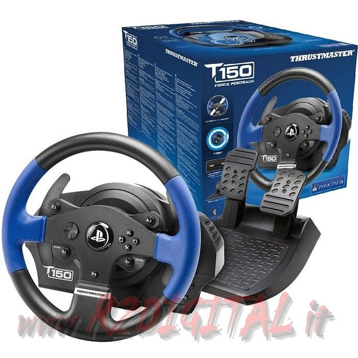 VOLANTE PEDALI THRUSTMASTER T150RS PC PS3 PS4 PEDALIERA PLAYSTAT