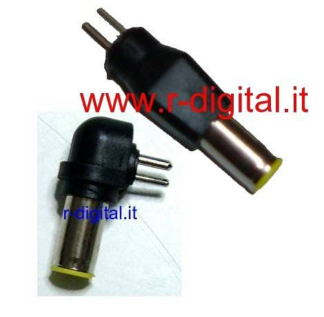 SPINA ADATTATORE HP DELL COMPAQ 7.87/5.5mm ALIMENTATORE NOTEBOOK