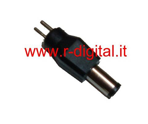 SPINA ADATTATORE HP DELL COMPAQ 7.5/5.0 mm ALIMENTATORE NOTEBOOK