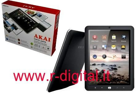 "TABLET AKAI MID8020-4G ANDROID 8"" IPAD 4GB WIFI WEBCAM TOUCH"