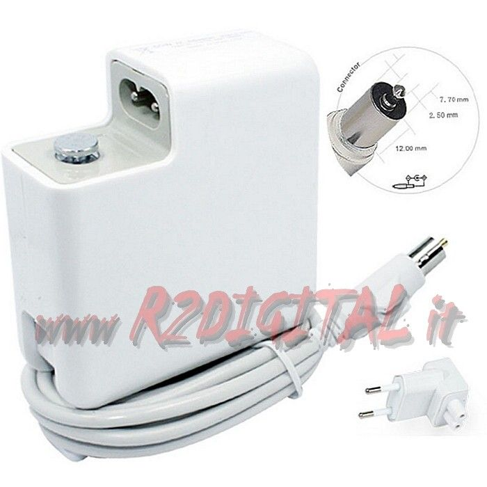 ALIMENTATORE APPLE iBOOK POWERBOOK G4 65W A1021 24V 2.65A MAC