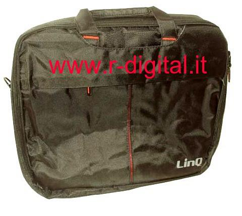BORSA 15 15.4 15.6 LINQ T01 NERO IMPERMEABILE NOTEBOOK NETBOOK