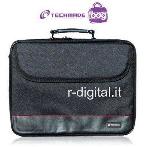 BORSA 15 15.4 15.6 TECHMADE NH-1001 NERO TRACOLLA NOTEBOOK