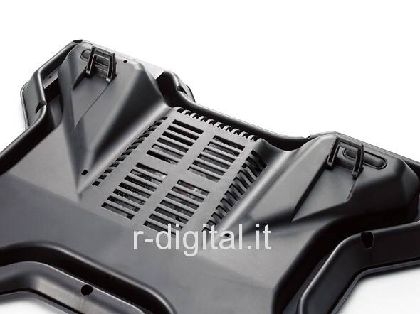 DISSIPATORE LINQ RADIATOR 15 17 NOTEBOOK LED RPM COOLING PAD