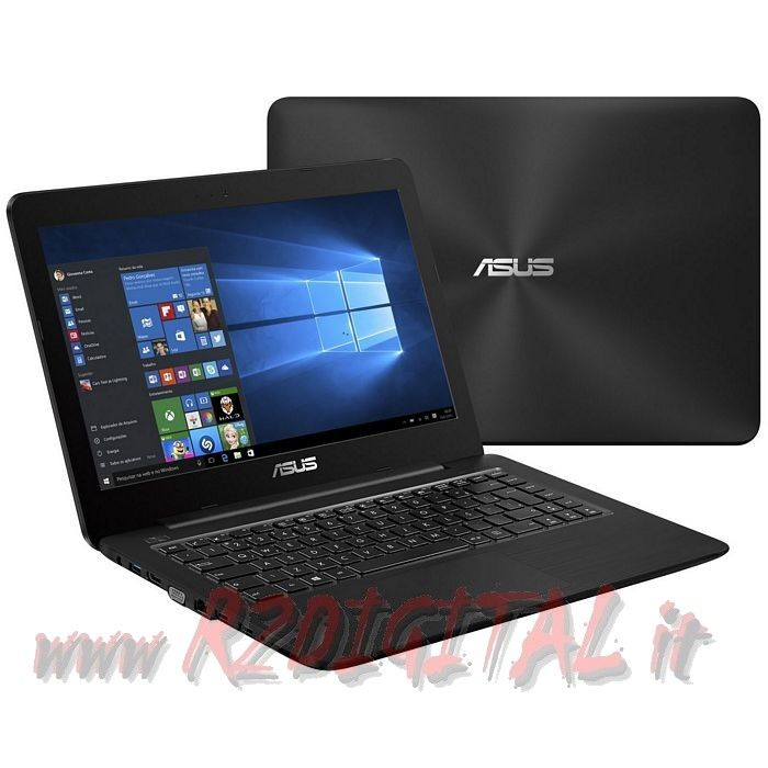 NOTEBOOK ASUS LED HD 15,6 DUAL CORE 2Gb 500Gb WINDOWS 7 8.1 10