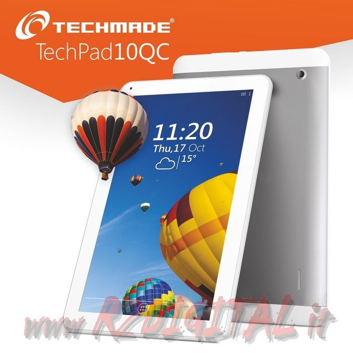 "TABLET TECHMADE PAD-10QD-SE 10"" QUAD CORE WIFI 3G ANDROID HDMI"