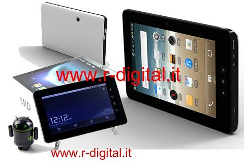"TABLET MID M62 ANDROID 7"" UMTS IPAD WIFI CAPACITIVO SIM CARD USB"