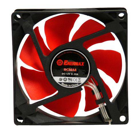 VENTOLA MAGMA UCMA12 ENERMAX 120 MM PC ADATTATORE 3 & 4 PIN FAN
