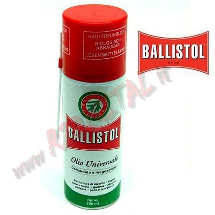 OLIO ARMI BALLISTOL BAL1 200ML MULTIUSO PROFESSIONALE AIRGUN