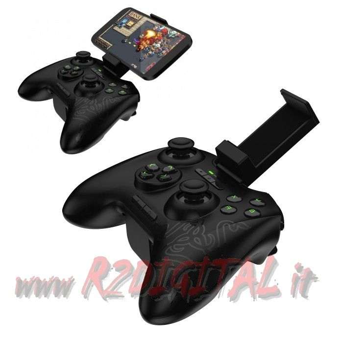 CONTROLLER RAZER SERVAL BLUETOOTH GAME SMARTPHONE ANDROID JOYPAD