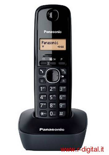 TELEFONO CORDLESS PANASONIC KX-TG1611JT VARI COLORI DISPLAY LCD