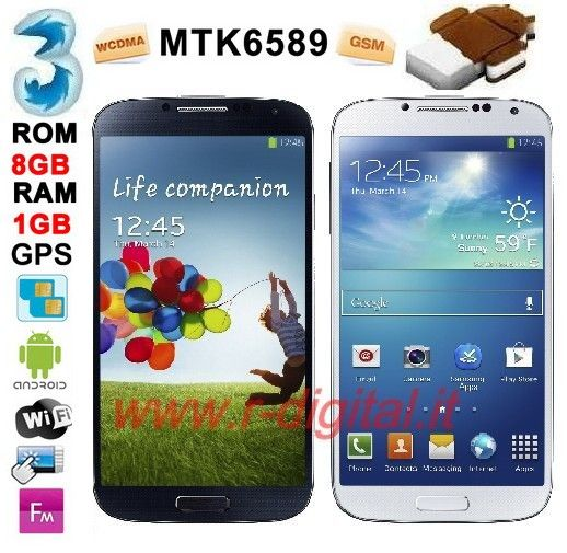 SMARTPHONE CECT N9500 ANDROID 5 CAPACITIVO GALAXY S4 CELLULARE