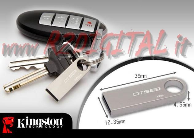 PENDRIVE GE9 MINI KINGSTON 16GB DATATRAVELER PENNA DRIVE PEN USB